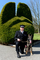 PC Paul House & PD Vinnie Sussex Police