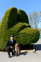 PC Matthew Rogers & PD Nibble Notts Police